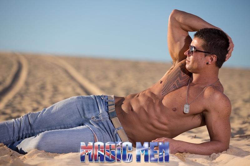 Stripper jaxson sun bathing
