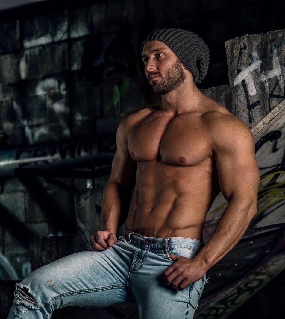 Male stripper Brad Brisbane