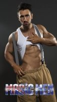 Stripper Nick in Fireman costume