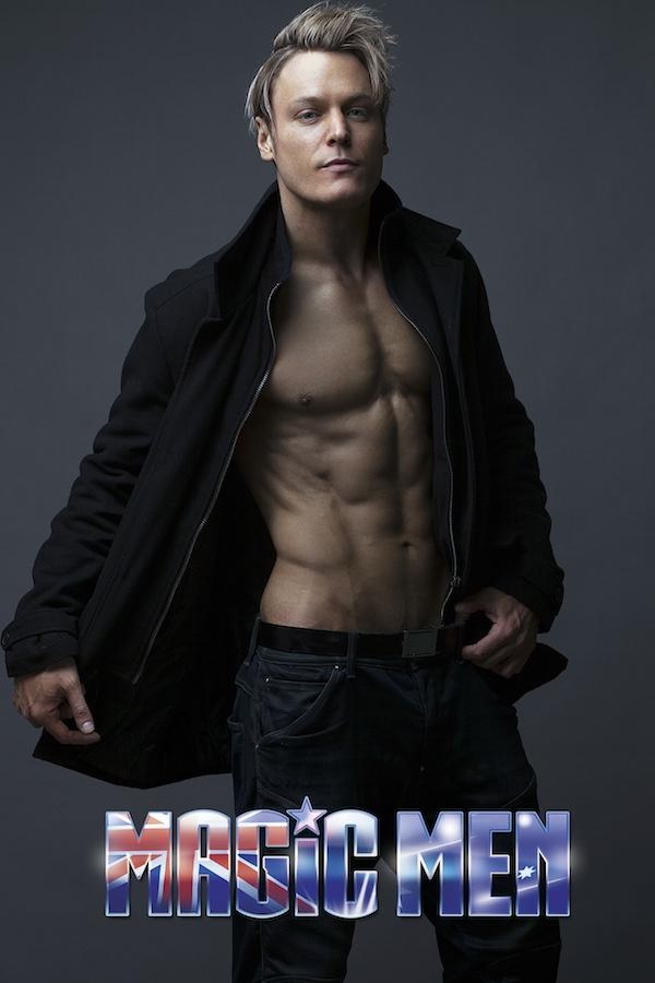 Jesse Melbourne stripper black coat