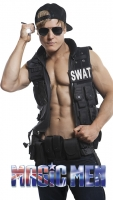 Policeman costume stripper Jesse