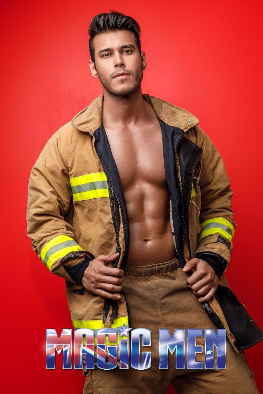 Melbourne male stripper Nikko