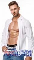 Topless waiter Josh H