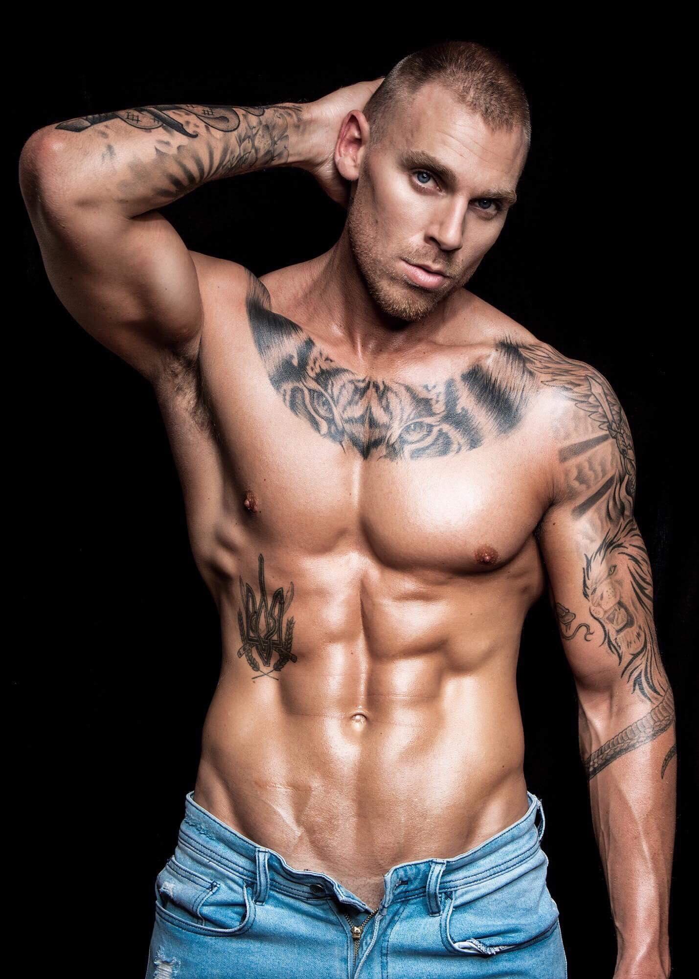 Rudi Sydney male stripper