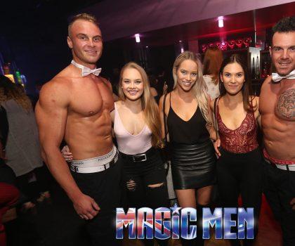 Milf at strip club