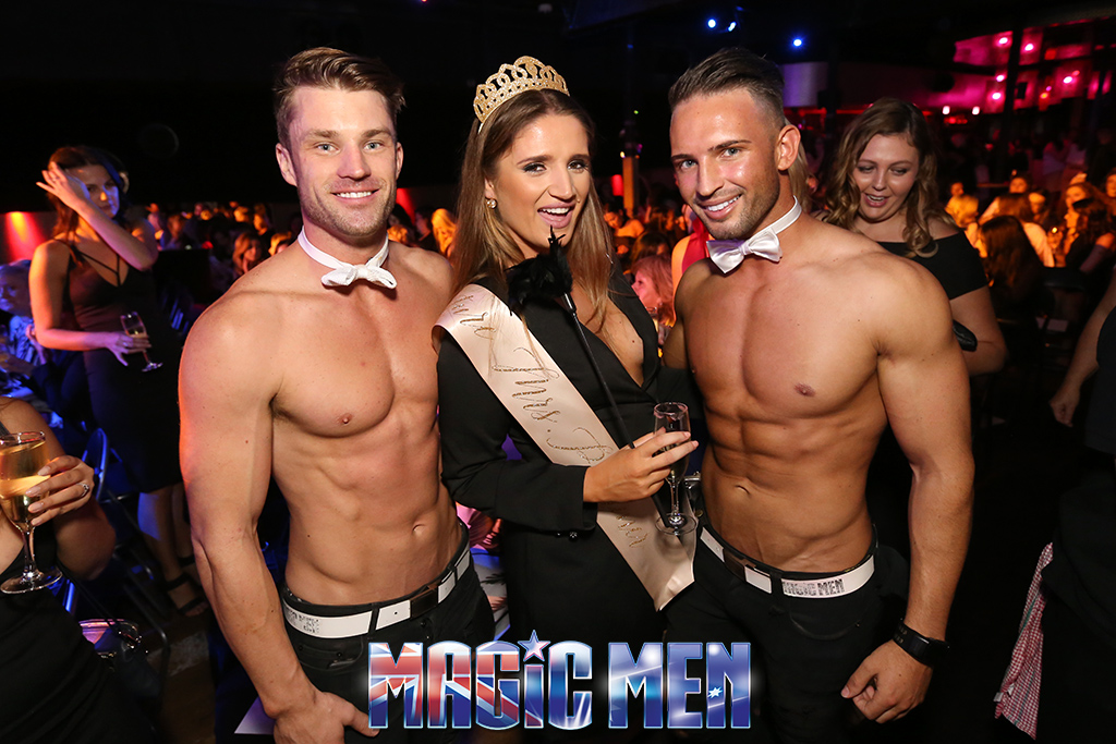hens night with the magic men melbourne sydney