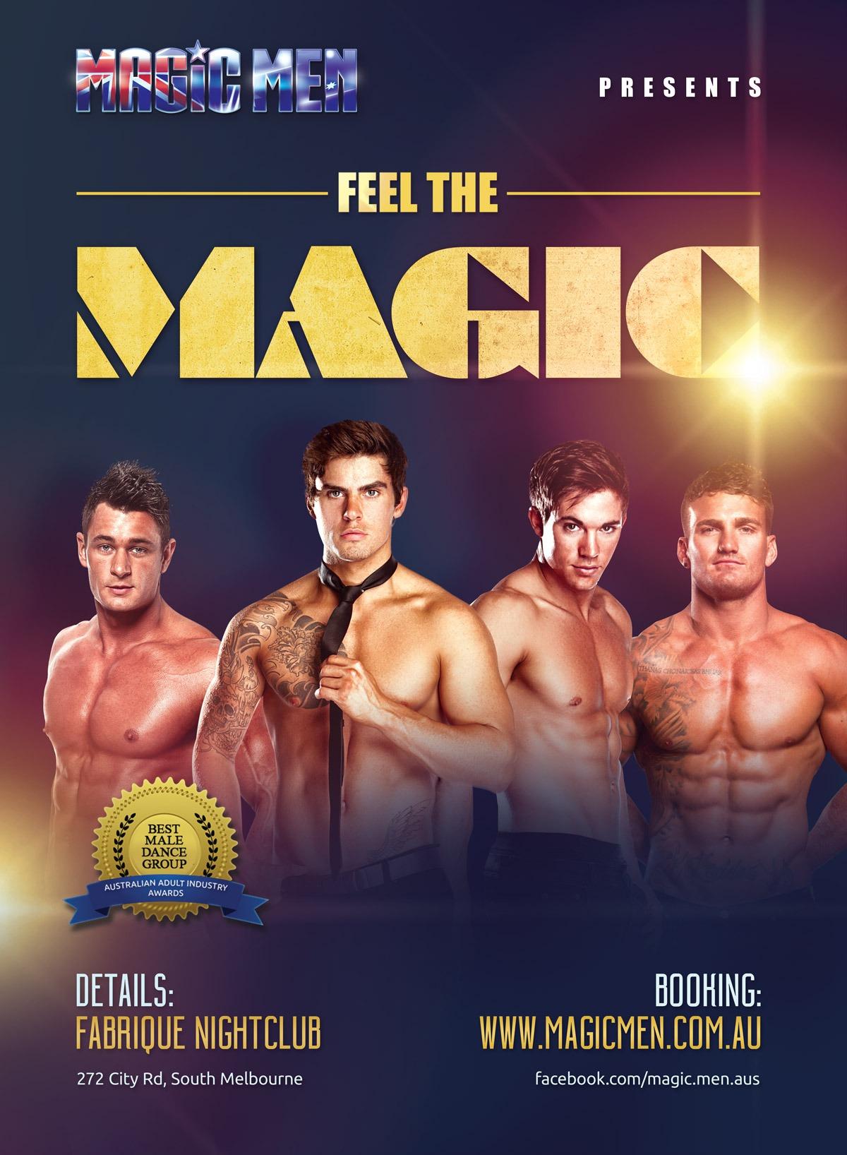 Magicmen show