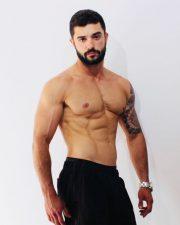 Sydney topless waiter Luiz
