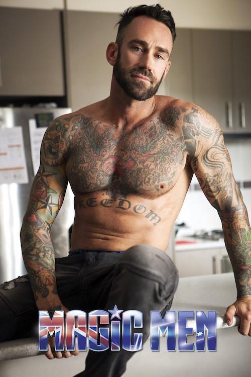 Lony Mac topless waiter Melbourne