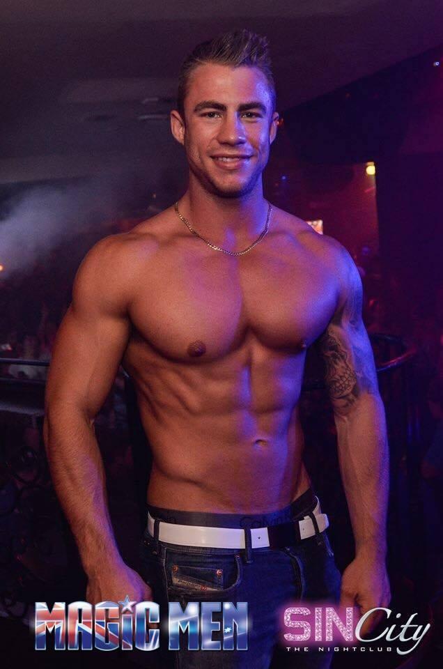 Stripper Magic Men topless