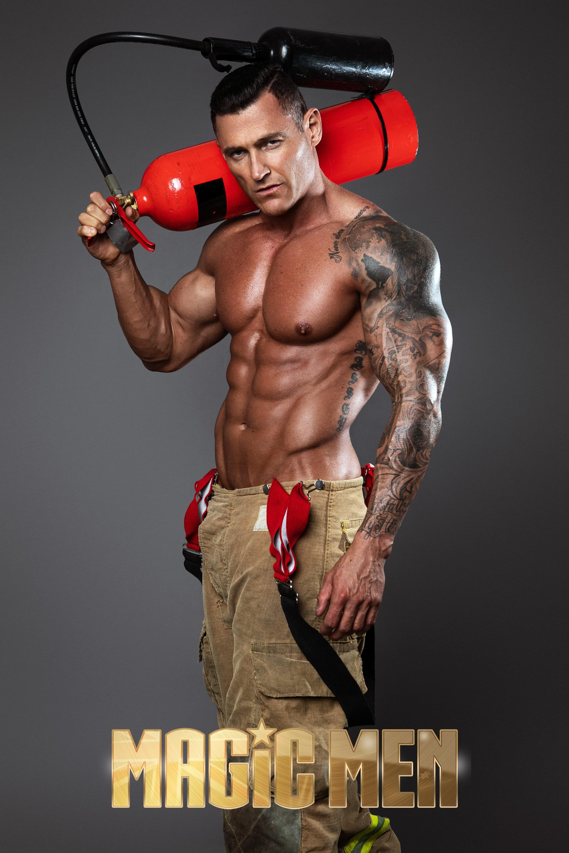 ceaser-stripper-firefighter-melbourne