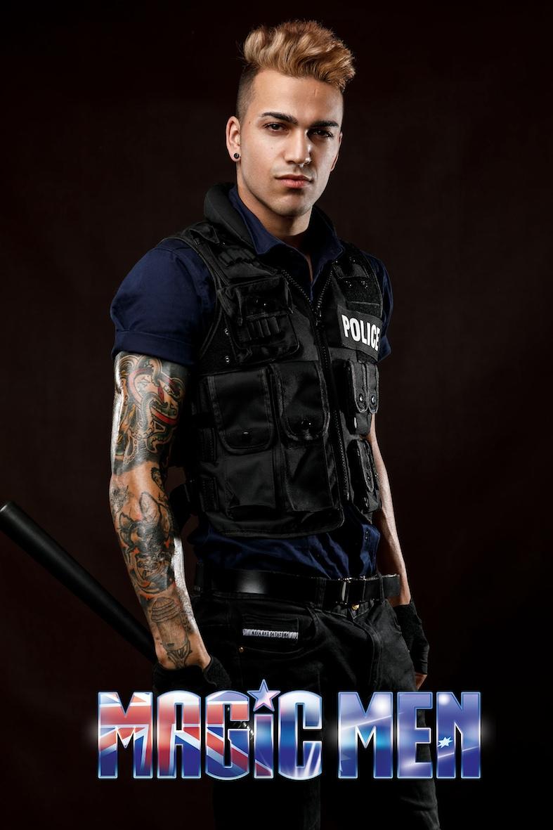 Police stripper Dominic
