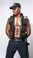 Tyreese FBI costume