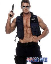 Melbourne male stripper Blake Walker