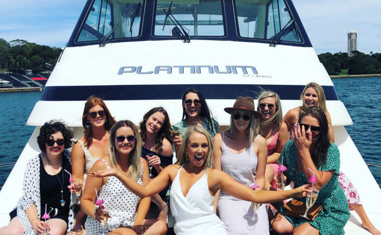 Hens Party Boats