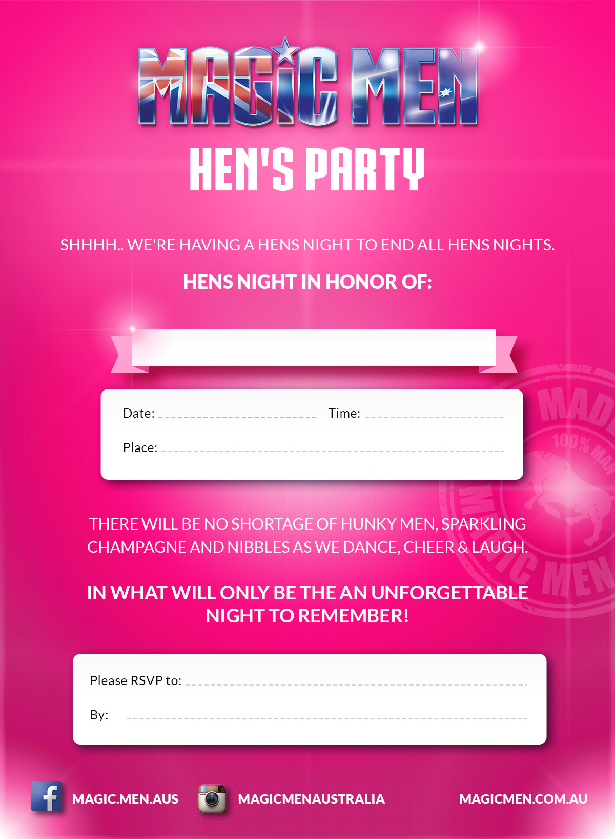 Hens Party Invite2