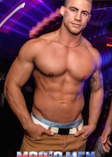Brisbane male stripper Josh