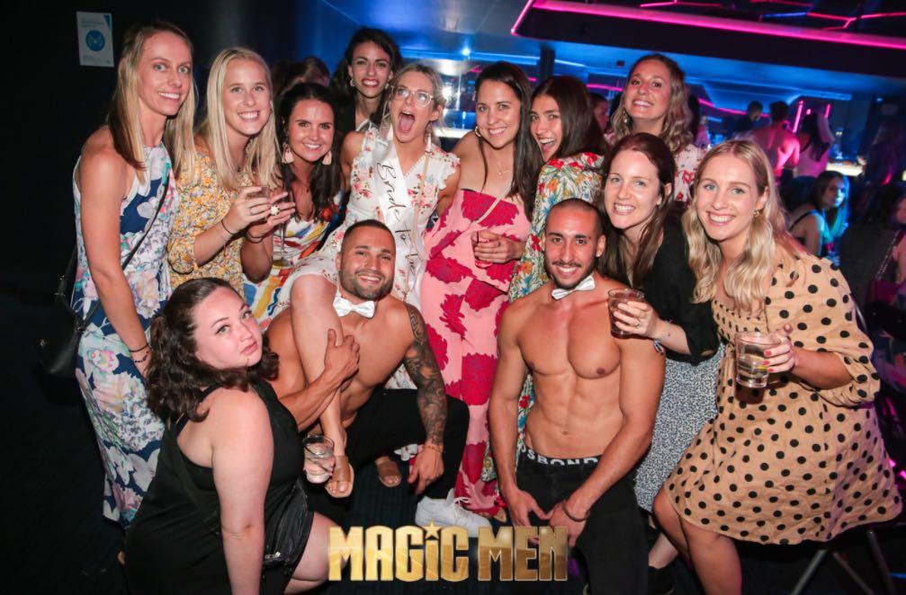 Magic Men Hens Party Melbourne