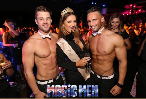 topless men strippers