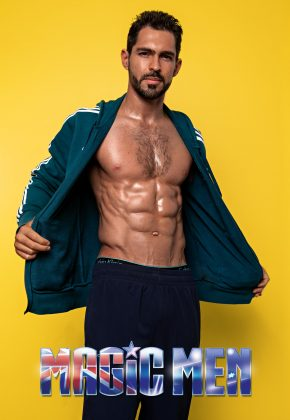 Melbourne-Male Topless Waiter-Joaquin K-Victoria-Magic Men Australia
