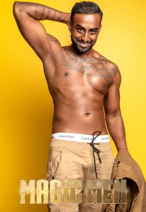 Melbourne_Male Topless Waiter_Ajay_MELB_VIC_Victoria_Magic Men Australia