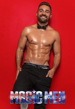 Melbourne_Male Topless Waiter_Alun_Victoria_MELB_VIC_Magic Men Australia