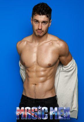 Topless waiter Tom