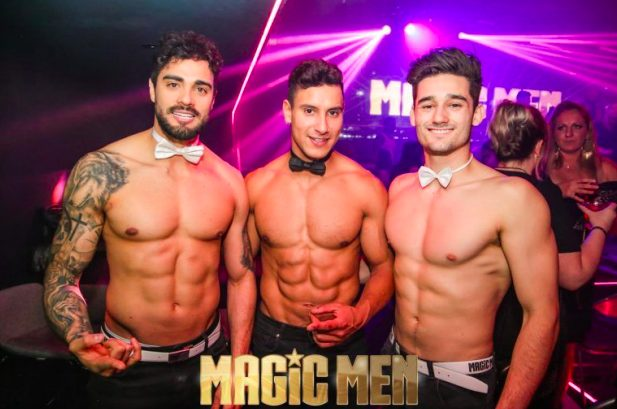 magic men; Top 50 Best Hens Night Ideas in Brisbane