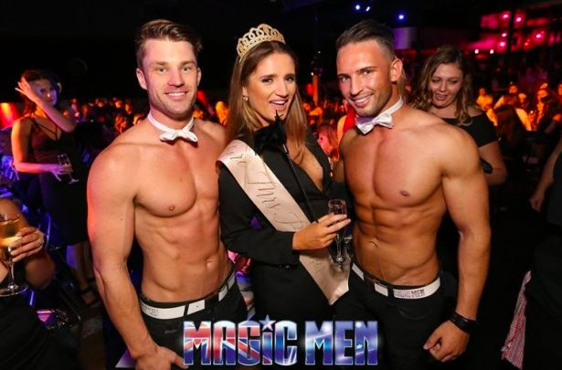 Hens Night Party with Magic Men Australia